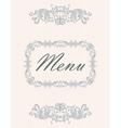 menu07 vector image vector image