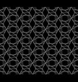 seamless geometric pattern with editable vector image vector image