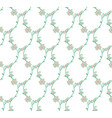 seamless pattern with drawn branches vector image vector image