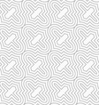 Slim gray diagonal Marrakesh grid vector image vector image