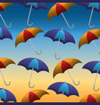 summer and rain season vector image