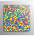 the color pieces background puzzle jigsaw banner vector image vector image