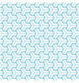 blue brick geometric texture pattern background vector image