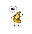 fast food cartoon doodle vector image