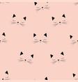 scandinavian cat pattern vector image