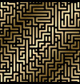 seamless geometric luxury pattern - rich vector image vector image
