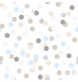 seamless pattern of colorful party confetti vector image vector image