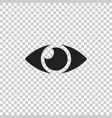 simple eye icon eyesight pictogram in flat style vector image