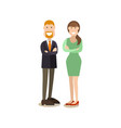 business people concept in vector image