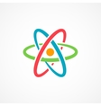 Atom Icon Sign vector image