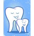 Family Dentist vector image