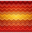 Abstract red and orange zig-zag warped stripes vector image vector image