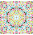 colorful mandala ethnic tribal pattern vector image