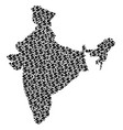 india map gdp composition of dollar and dots