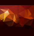 modern beautiful red yellow brown triangular vector image vector image