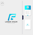 negative g initial logo template free business vector image