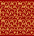 chinese traditional seamless pattern oriental vector image vector image