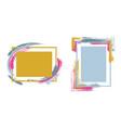 framesr124 vector image vector image