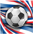 france background soccer ball vector image vector image