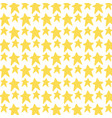 gold stars ornament decoration background vector image vector image