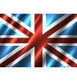 great britain national flag background vector image