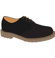 Grey shoe vector image vector image