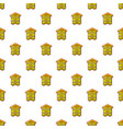 hive for bees pattern seamless vector image vector image
