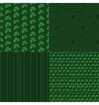 Patrick Day patterns vector image vector image