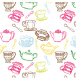 teapot seamless vector image vector image