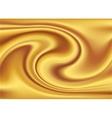 Abstract Texture Golden silk vector image vector image