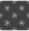 Atom pattern vector image vector image