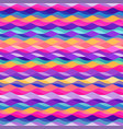 colored wave seamless pattern vector image vector image