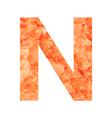 n land letter vector image vector image