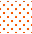 apricot pattern seamless vector image vector image