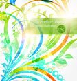 Bright Floral Background vector image vector image