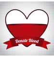 donate blood vector image vector image