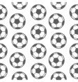 Football seamless pattern for boy Sports balls on vector image vector image
