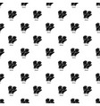 gloves pattern seamless vector image vector image