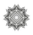Mandala Circular ornament vector image