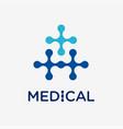 Medical and health conceptual logo