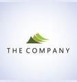 mountain logo ideas design on vector image vector image