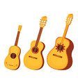 set traditional mexican and spanish musical vector image vector image