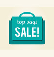 top bags sale colorful icon