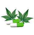 A capsule of marijuana