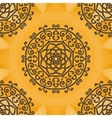 arabesque motif print