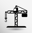 building crane icon button logo symbol concept vector image vector image