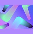 gradient shape modern colorful geometric vector image