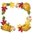 Harvest season and thanksgiving square frame
