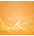 Techno abstract background with soft lines vector image vector image