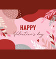 valentines day abstract backgrounds with copy vector image vector image